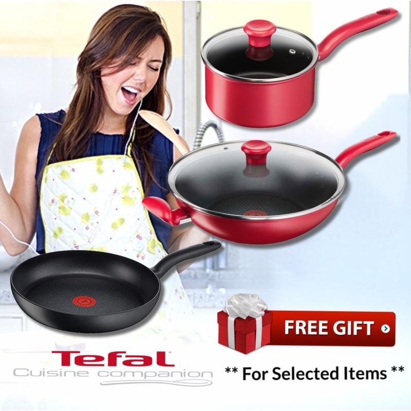 Tefal C69204 Hard Titanium Fry Pan 24cm • Tefal C64298 Pure Chef Plus Wokpan 30cm • Tefal C64223 Saucepan 18cm * ALL HOBS + INDUCTION Singapore