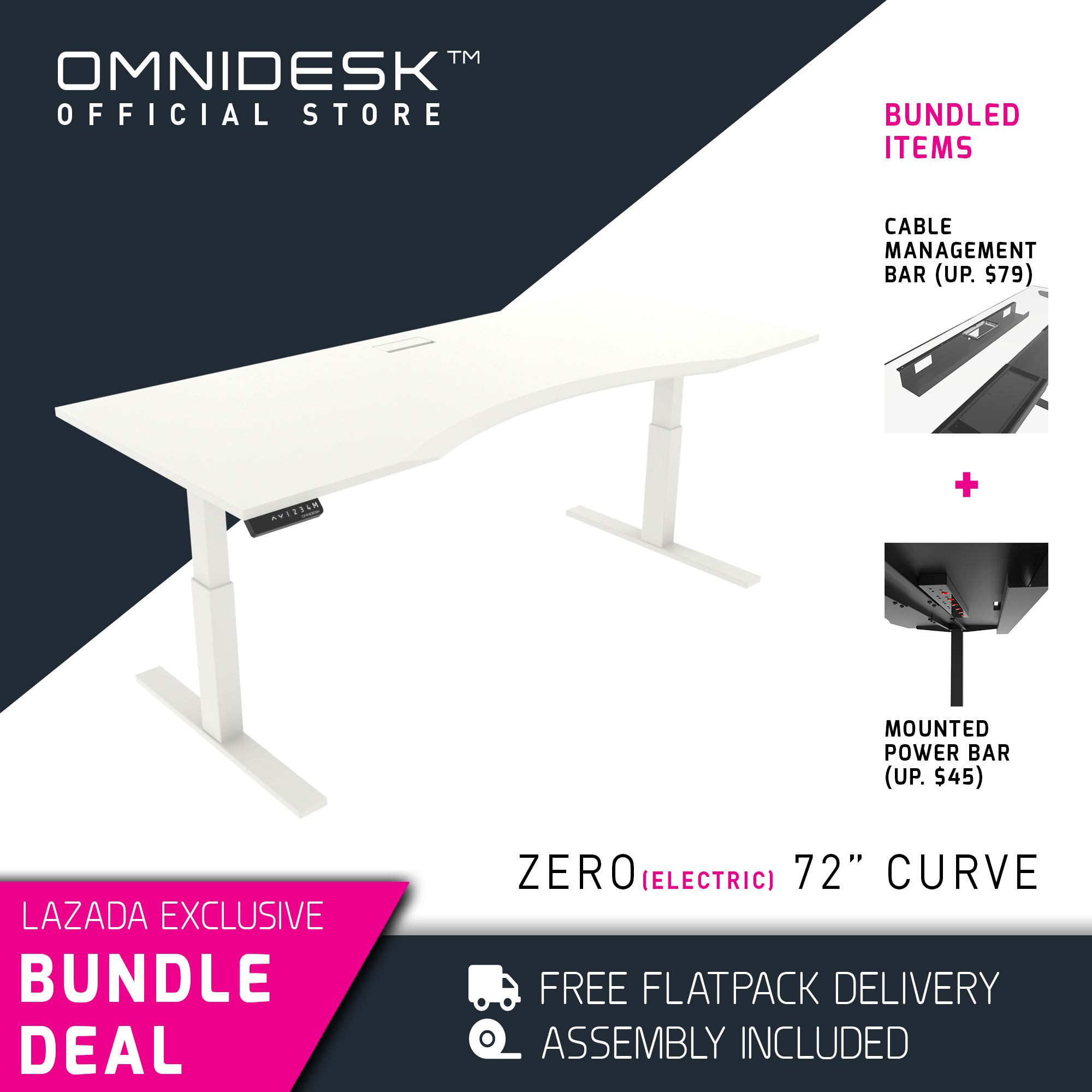 OMNIDESK ZERO Gaming Desk (Height-Adjustable)