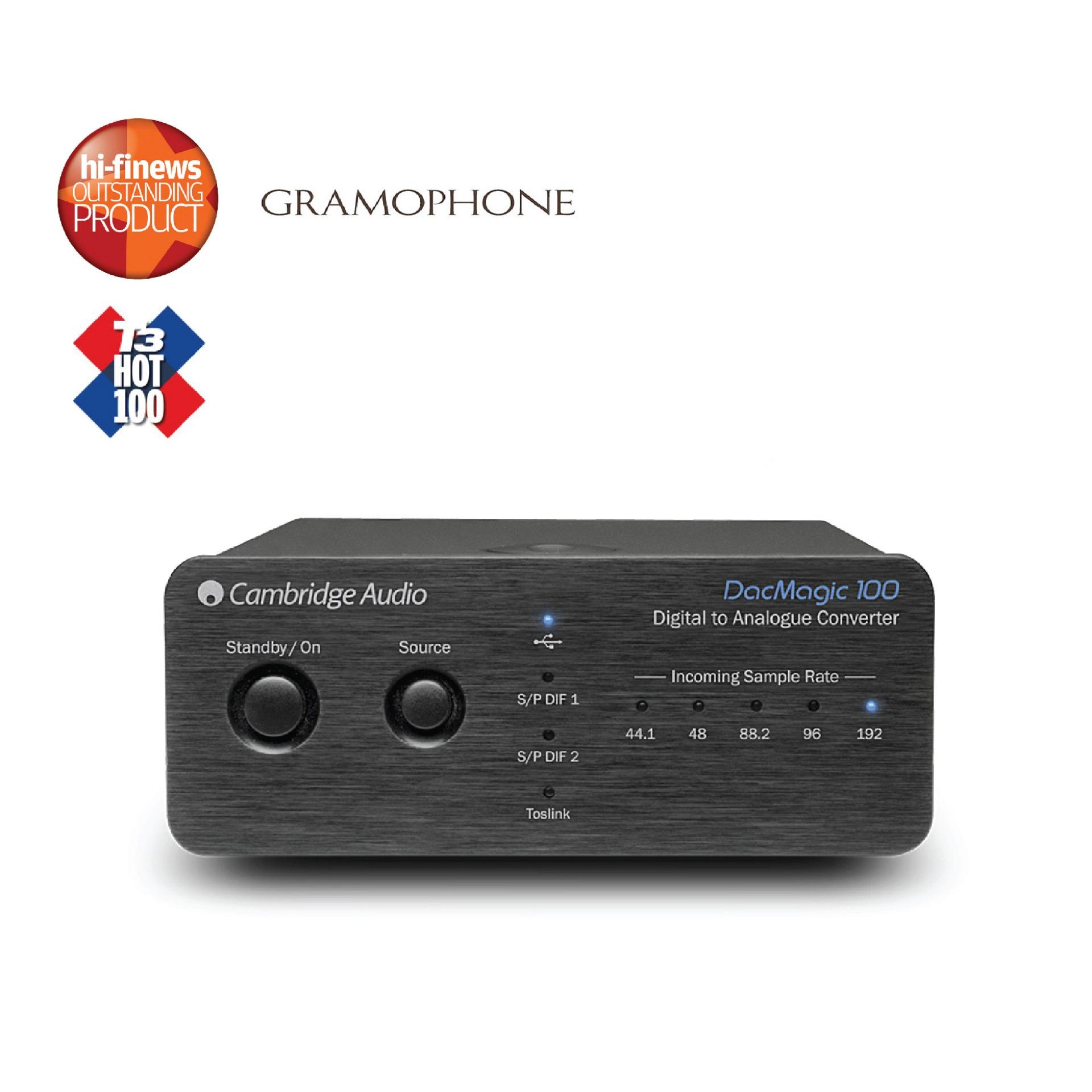 Cambridge Dacmagic 100 Digital To Analogue Converter By Cambridge Audio Singapore.