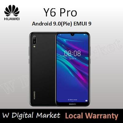 HUAWEI Y6 PRO 2019 Limitless Dewdrop Display 3020mAh EMUI 9 0 with Android™  9 0 Pie