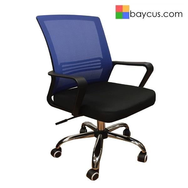 QUARTZ II Low Back Office Chair  Mesh Chair (Blue) Singapore
