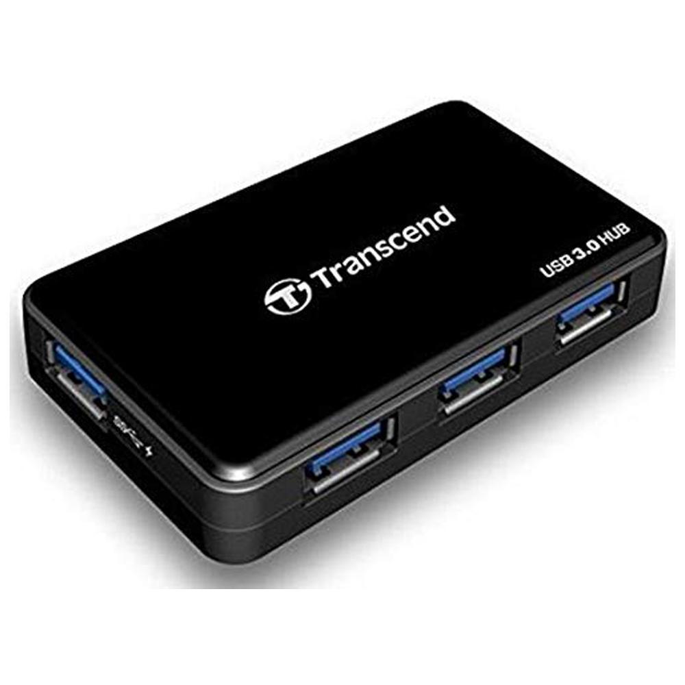 Transcend Information SuperSpeed USB 3.0 Hub (TS-HUB3K) (4 Port w/ USB Charging)