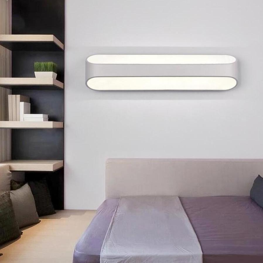 LED Wall Light Modern Bedroom Mirror Front Lamp Living Room Tv Wall Light Study Reading Wall Light - intl