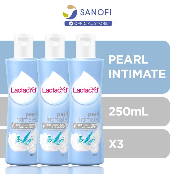 Buy Lactacyd Feminine Wash Pearl Intimate 250ml x3 Singapore