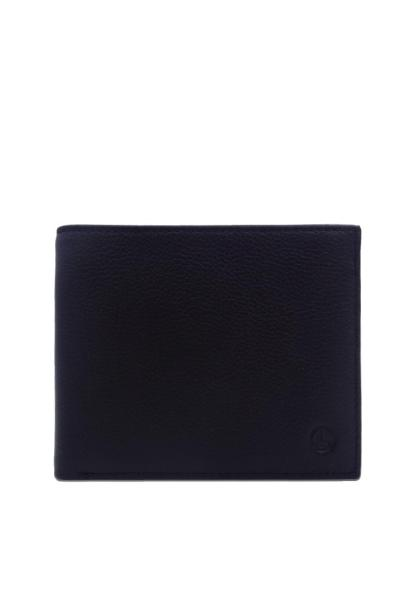 Goldlion Classic Leather Flip-Up window Wallet with coin pouch - Black
