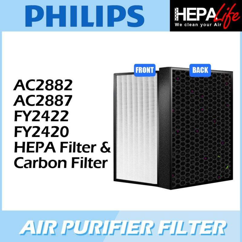 PHILIPS AC2882 AC2887 FY2422 FY2420 Compatible Hepa Filter - Hepalife Singapore