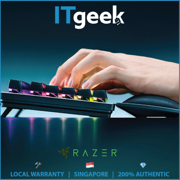 Razer Ergonomic Wrist Rest For Full-sized Keyboards Singapore