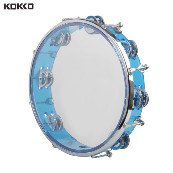 Chuông Tay Tambourine Trống Tay Tự Điều Chỉnh J93 10 Đồ Chơi Nhạc Cụ Gõ