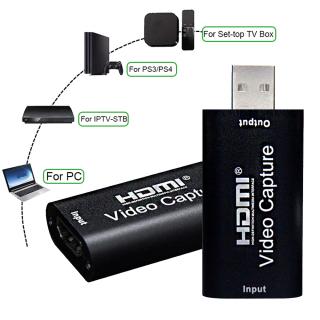 MSRC Máy Ghi Âm Trò Chơi PS4 VHS PS3 Tại Nhà, Thẻ Quay Video HD 1080P USB 2.0, HDMI thumbnail