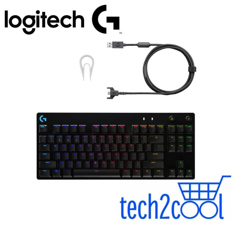 Logitech G Pro X Mechanical RGB Gaming Keyboard with Swappable Switches (Comes with GX Blue Clicky Switches) Singapore