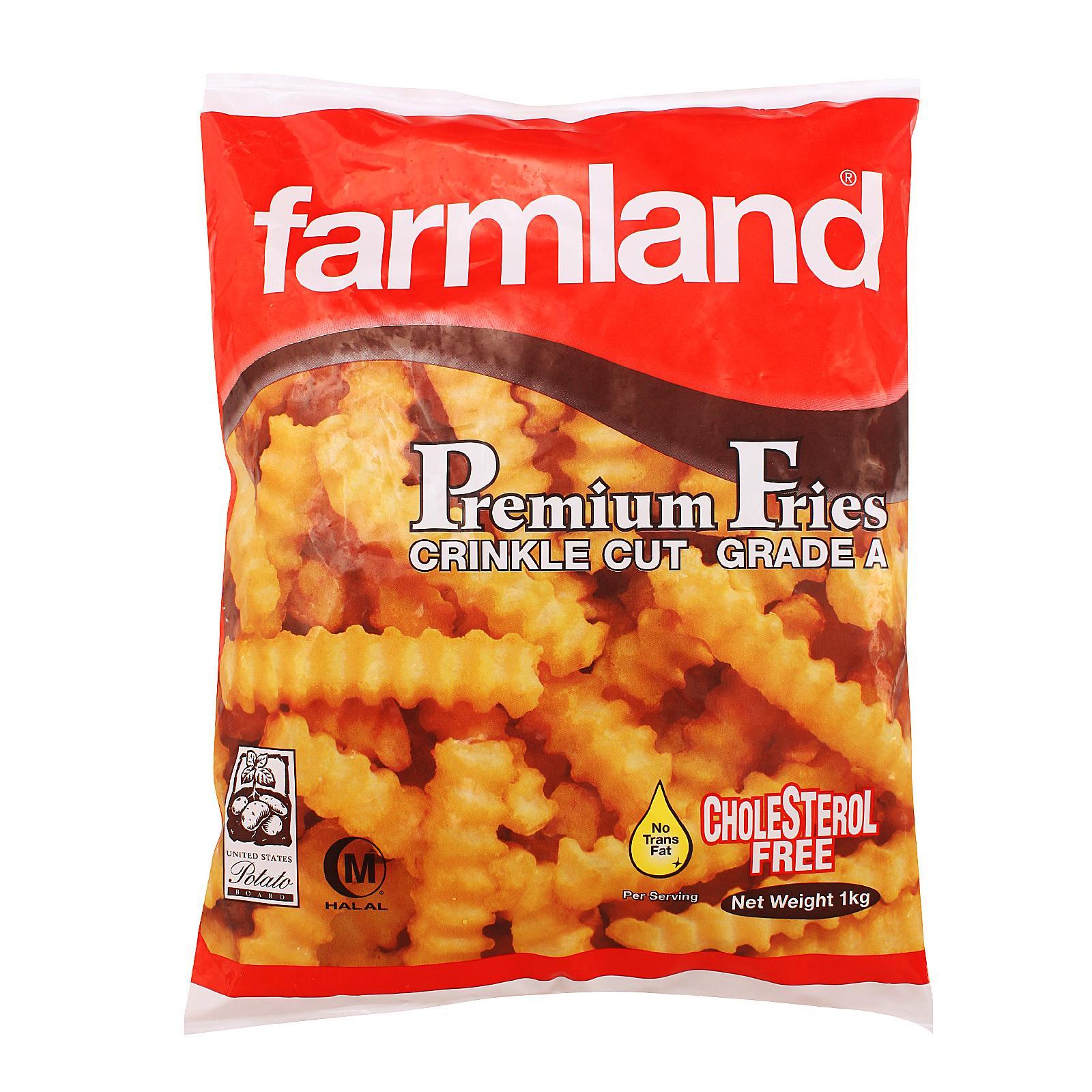 Farmland Crinkle Cut Fries - Frozen By Redmart.