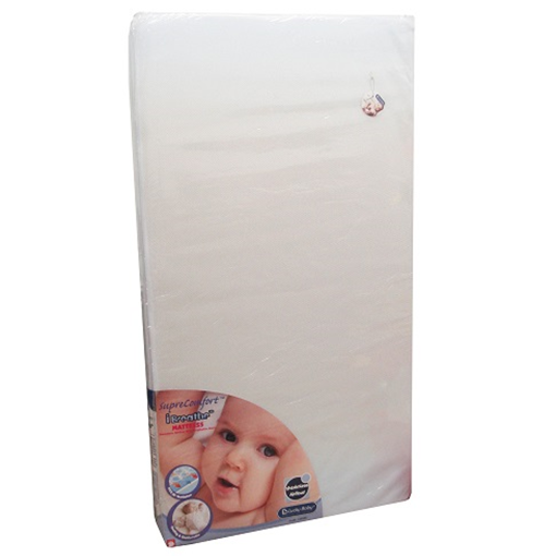 i-Breathe - Baby Mattress, 28x52x4  (142585)