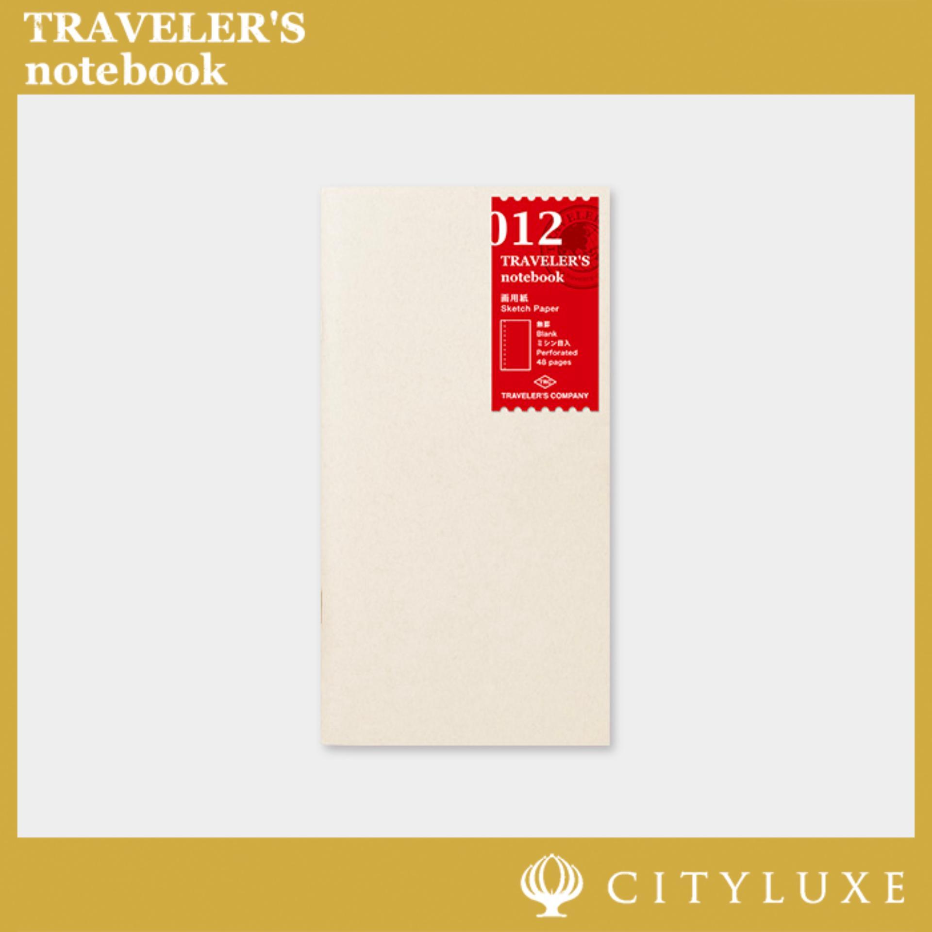 Midori Traveler&39;s Notebook Refill 012/013/014 Sketch/lightweight/kraft Paper.