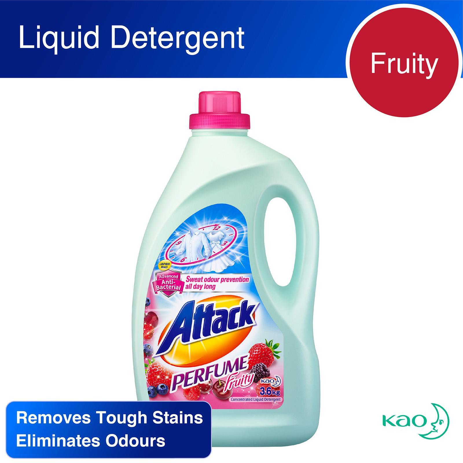 Attack Perfume Fruity Liquid Detergent