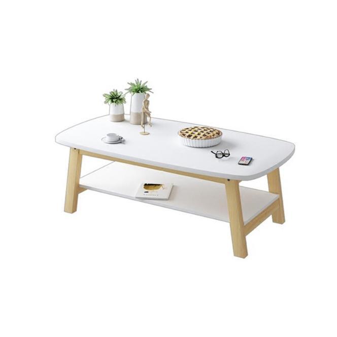 JIJI (Cartel Kenchi Coffee Table)(Free Installation) / Coffee Table / Wood Coffee Table / Living Room Furniture / Designer Coffee Table / 12 Month Warranty / (SG)