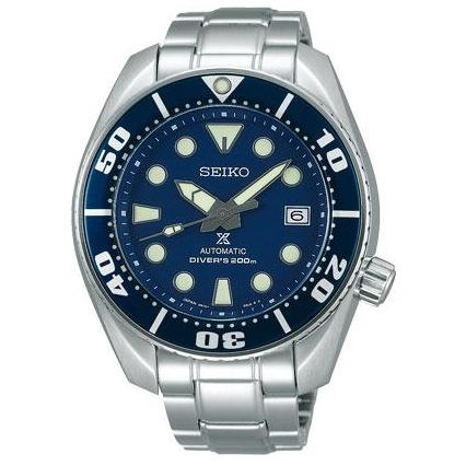 * JAPAN DOMESTIC MODEL * BRAND NEW SEIKO PROSPEX BLUE SUMO BLMO MENS AUTOMATIC DIVERS WATCH SBDC033