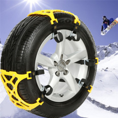 Best Price 6Pcs Lot Tpu Snow Chains Universal Car Suit 165 265Mm Tyre Winter Roadway Travel Emergency Cross Countrytire Chains Snow Climbing Mud Ground Anti Slip