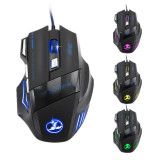 Discount 7 Button Led Optical Usb Wired Gaming Mouse Mice 5500Dpi For Pro Gamer Black Oem On China