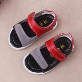 Buy 3 Years Baby Boys Pu Leather Sandals Toddler First Walker Soft Soled Open Toed Shoes Red Intl Online China