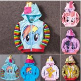 8Y Girls Kids Children Hoodie My Little Pony Wings Sweatshirt Coat Jacket China