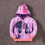 8Y Girls Kids Children Hoodie My Little Pony Wings Sweatshirt Coat Jacket Purple Twilight Sparkle On China