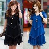 Best Reviews Of Ximei Women S Ruffled Skirt Black Blue Blue Blue