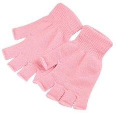 1 Pair Stretch Knitted Gloves Men Women Fingerless Winter Warmer Mittens - Intl By Miss Lan.
