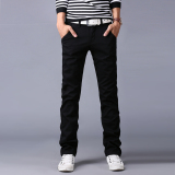 Promo 10 Colors Men Pant Business Or Casual Mens Straight Trousers Cargo Pants Black Intl