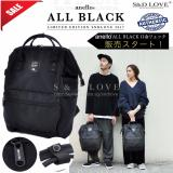 100 Authentic Anello Backpack New 2017 Web Limited Edition Model Color All Black Ec B001 Sale