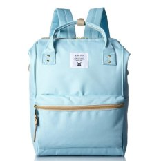 Sale 100 Authentic Anello Original Japan Best Selling Unisex Casual Backpack Mini Sax With Backzip Singapore Cheap
