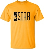 100 Cotton Fashion Mens T Shirt Star Labs T Shirt Yellow Intl Custom T Shirt Discount