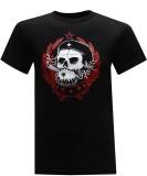 Compare Prices For 100 Cotton Skull Custom Men S Short Sleeve Black T Shirt Intl