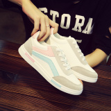 Low Price 12 Teenager Junior High Sch**l Students Fall Shoes Big Kid Canvas Shoes White Pink 399