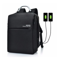 Price Comparisons Of 15 Inch Men Women S Unisex Anti Theft External Usb Charge Notebook Backpack Male Canvas Backpacks Fashion Laptop Bag Pack Large Capacity Casual Travel Rucksack Shoulder Bags Computer Bag Student Bag Leisure Travel Backpack Intl