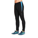 How To Buy 16 Running Sports Pants Male Trousers Stretch Football Training Pants Leg Trousers Compression Pants Riding Pants Track And Field Outdoor Pants Black Blue Edge