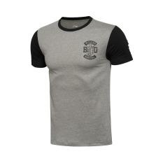 Price Li Ning Ahsl 171 1 2 3 Cotton Men S Basketball Breathable Short Sleeved T Shirt Gray Oem Online