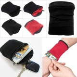 Buy 1Pc Wrist Wallet Pouch Wristbands Gym Cycling Safe Sport Wallet Hiking Intl Oem Online