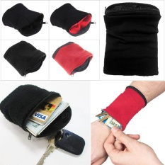 Buy 1Pc Wrist Wallet Pouch Wristbands Gym Cycling Safe Sport Wallet Hiking Intl Online