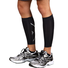 1pcs Calf Support Graduated Compression Leg Sleeve Sports Socks Outdoor Exercise Black M - Intl By Yidea Hongkong.