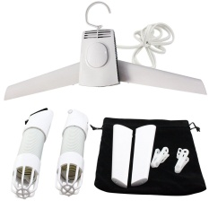 Buy 2 In 1 Multifunctional Mini Portable Hang Dryer Clothes Boot Shoes Suit Drying Hanger With Adjustable Hot And Cold Wind For Travel Business Home Intl Online China