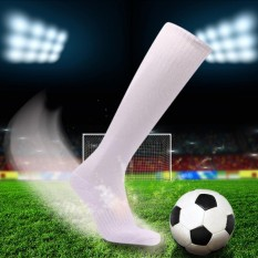 31a75e6641 2 Pairs Mens Breathable Wicking Knee High Soccer Socks Sport Football  Athletic Compression Socks For Us