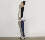 Ulzzang Korean Style Spring And Summer New Style Raglan Top For Sale Online