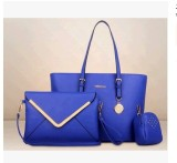 Review Women S European And American Style Stylist Large Bag Blue Blue On China