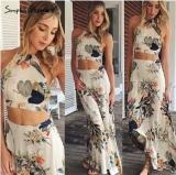 Sale 2015 New Summer Women Fashion Print Skirt Beach S*xy Dress Oem Original