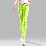 2016 Candy Color Women Ladies Stretch Pencil Pants Casual Slim Fit Denim Jean Skinny Trousers Reviews