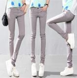 Sale 2016 Candy Color Women Ladies Stretch Pencil Pants Casual Slim Fit Denim Jean Skinny Trousers Oem