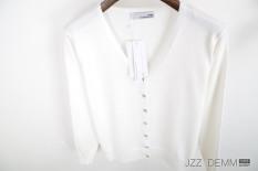 Buy Loose Ladies Cotton Autumn New Plus Sized Thin Cardigan Beige Beige Oem Cheap