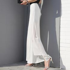 Buy Cheap Korean Style Chiffon New Style Spring Summer Wide Leg Pants Yx 1316 White