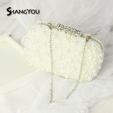 Buy New Style Bride Pearl Chain Korean Style Banquet Bag Cheap On China
