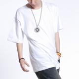 Best Rated Men And Women Original New Hip Hop Light Board Tide Hip Hop T Shirt Shirt Light T White